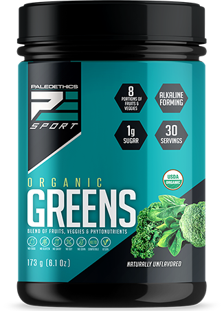 Paleoethics Organic Greens Naturally Unflavoured (173g)