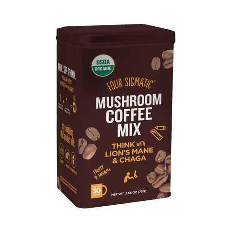 Four Sigmatic Mushroom Coffee w/ Lion's Mane (30 Serving Tin)