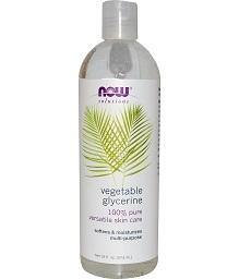 Now Solutions Pure Vegetable Glycerine Oil 473ml