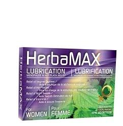 HerbaMAX Women Lubrication, Menopause & Hot Flash Relief 30 Caps
