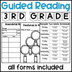 3rd Grade Guided Reading Lesson Plans