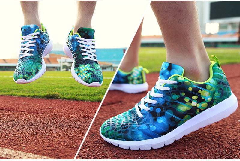 Camouflage Print Sneakers