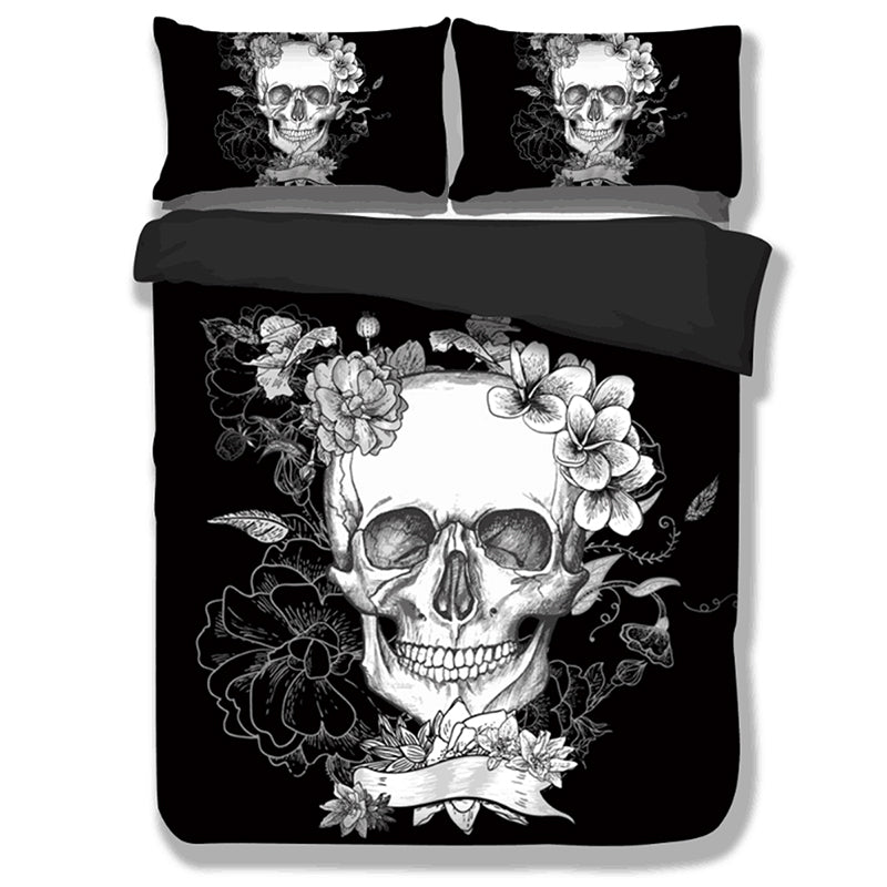 Skull Bedding Sets 3PCS