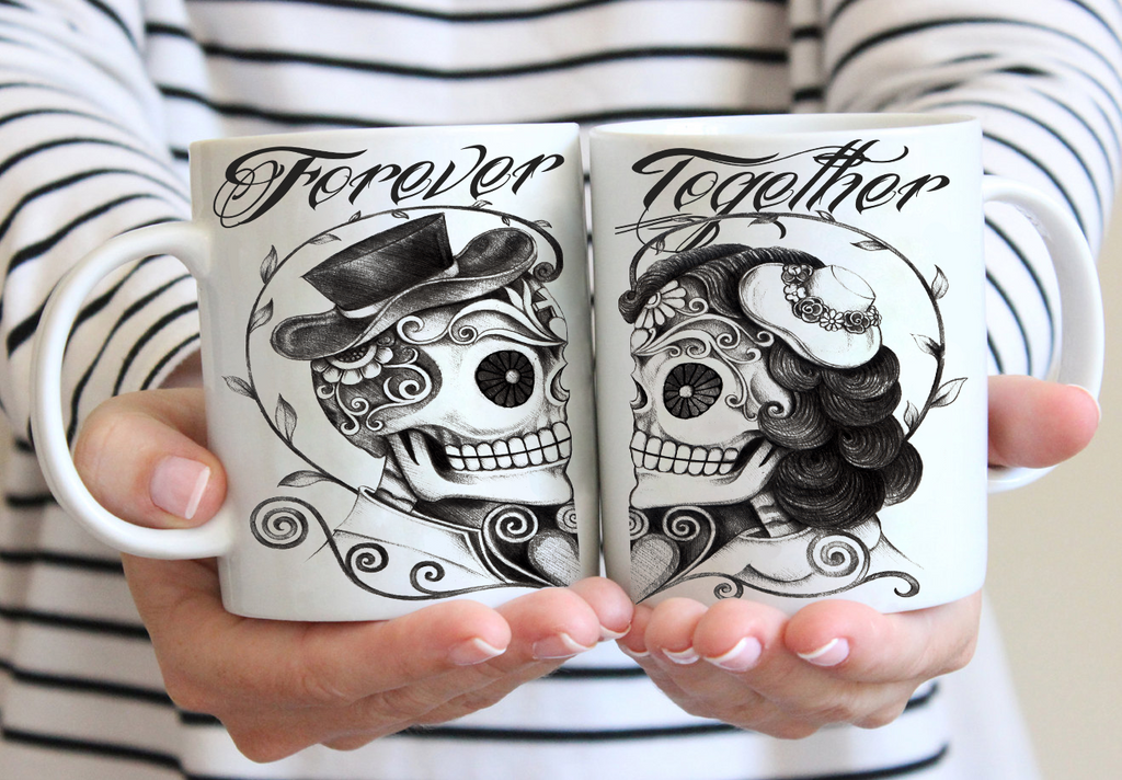 SET OF 2 MUGS - FOREVER TOGETHER