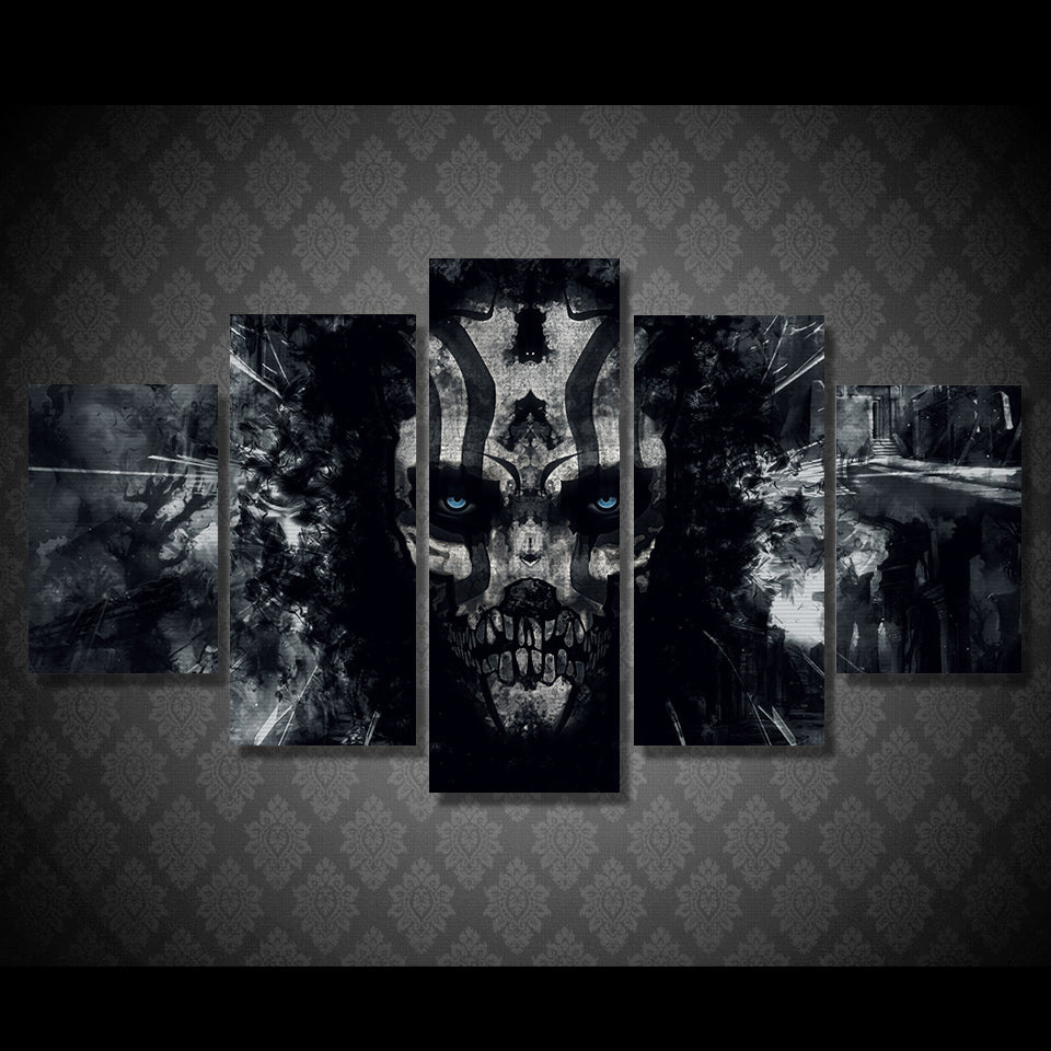 Dark skull Painting Canvas