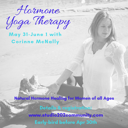 Hormone Yoga Therapy: May 31 & June 1