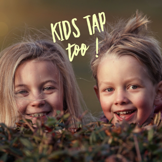 Kids Can Tap Too!: March 23-April 6