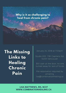 Healing Chronic Pain: Jan 24