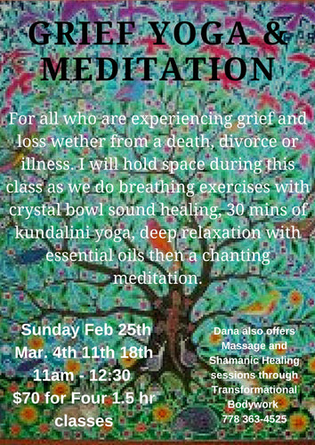 Grief Yoga + Meditation Sunday Series