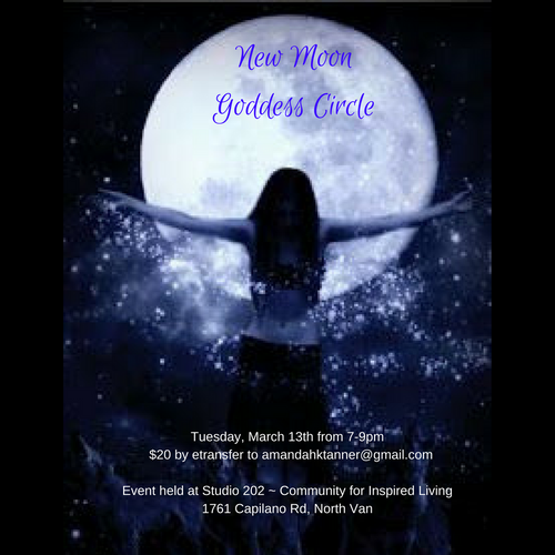 New Moon Goddess Circle