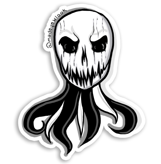 Pumpkin King Sticker