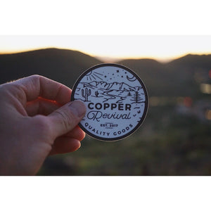 The Original Circle Sticker - Copper Revival