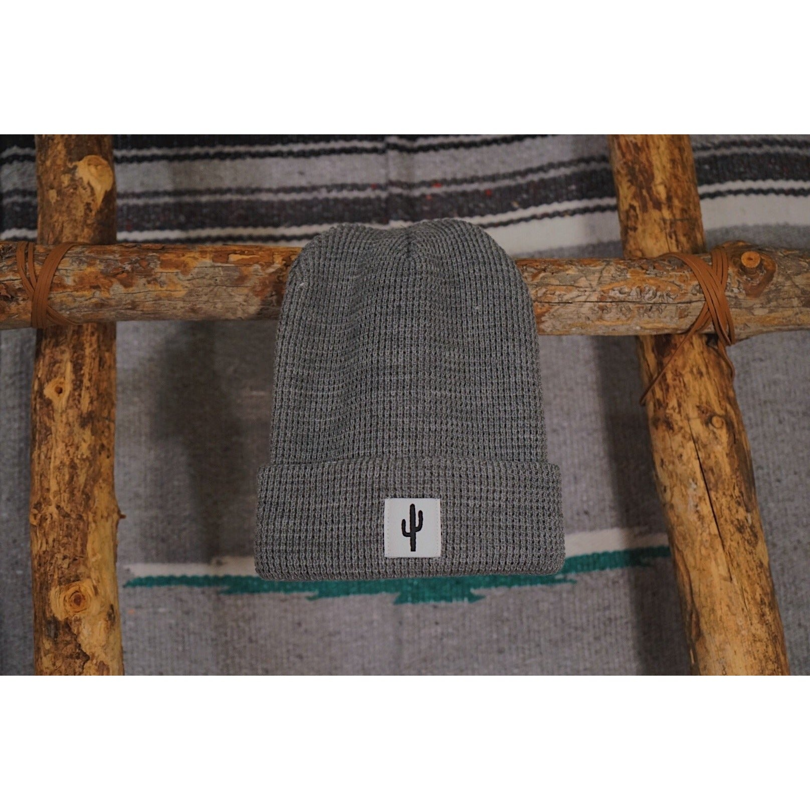 The Saguaro Waffle Knit Beanie - Copper Revival
