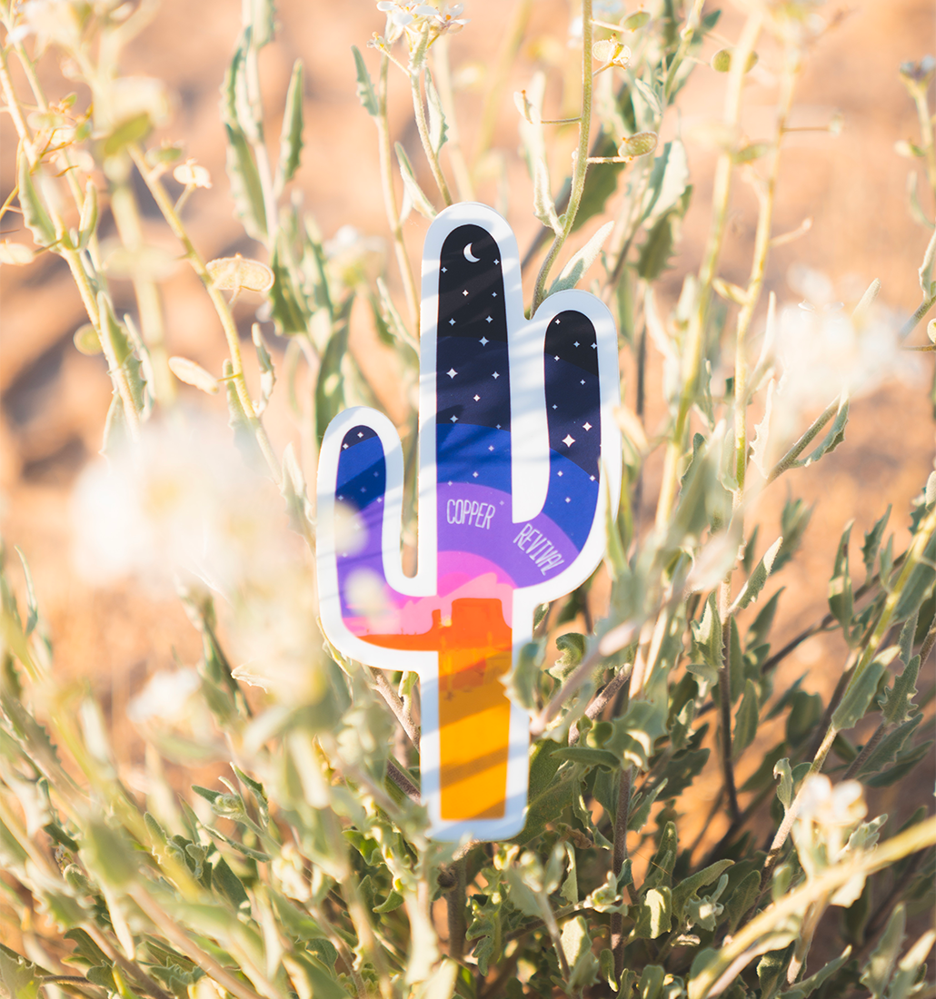 The Saguaro Sunrise Sticker
