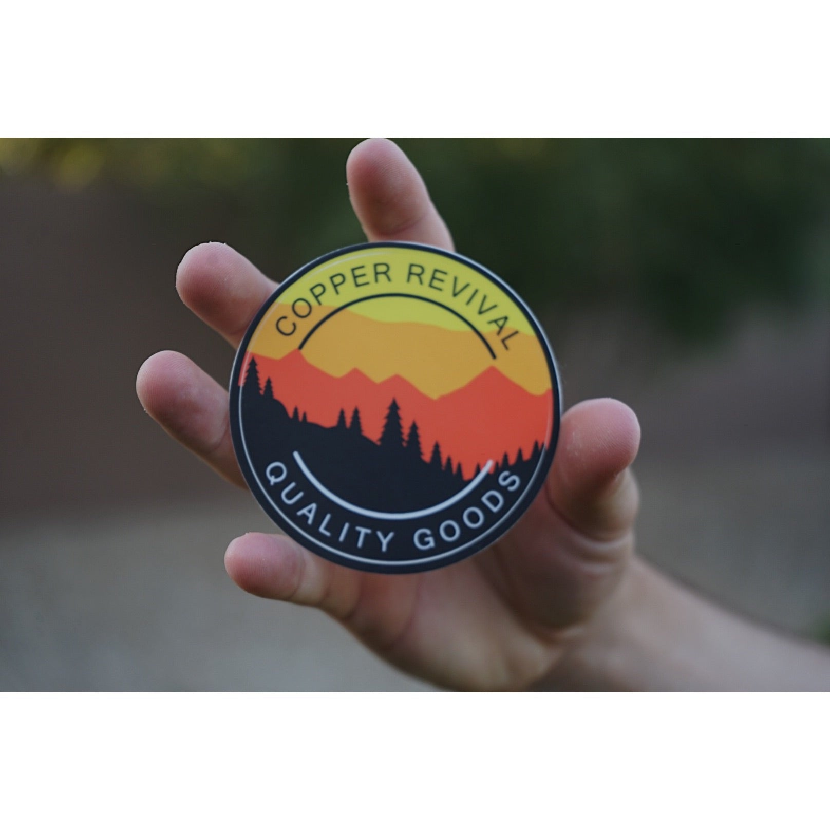 The White Mountains Summer Sticker