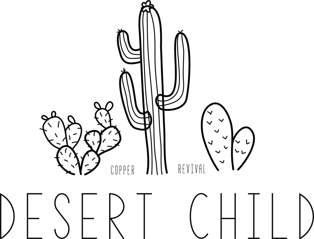 Desert Child Sticker