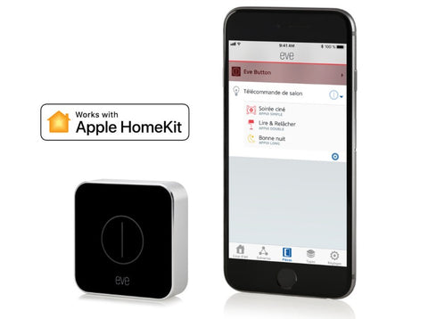Eve Button, Apple HomeKit Smart Home Scene Activation Programmable