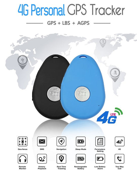 SOS Safety GPS Tracker from Elderly. 4G Tracking Device