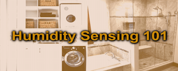 Humidity sensor uses for mold reduction using smart home z-wave automation