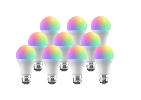 Broadlink RGB Wifi Bulb - 10 Pack