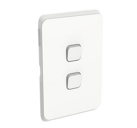 Clipsal Iconic Double Switch Plate