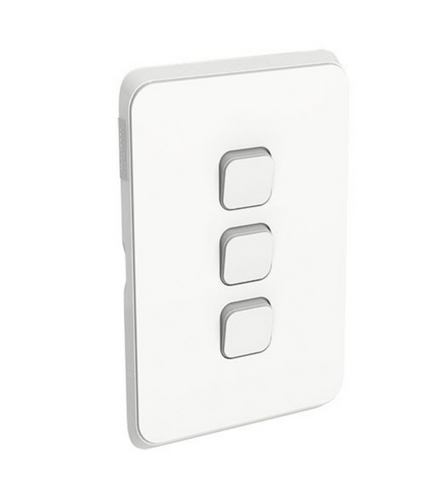 Clipsal Iconic Triple Switch Plate