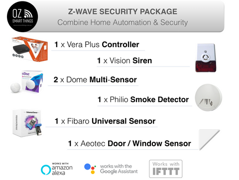 Smart Home Kit Security Package
