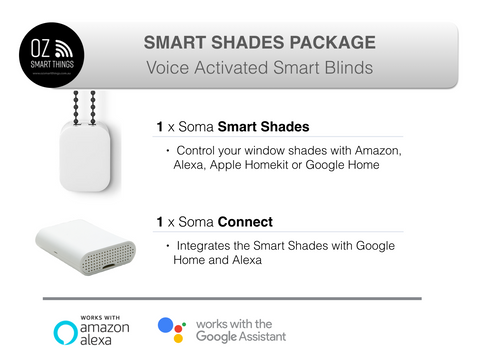 Soma Smart Shades Voice kit