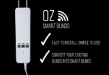Oz Smart Wifi Blinds 3 Pack Tuya, Alexa, Google Compatible Smart Home