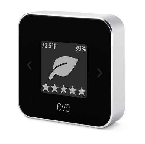 Eve Room 2 HomeKit, Apple Smart Home Device, Siri Controlled, iPhone