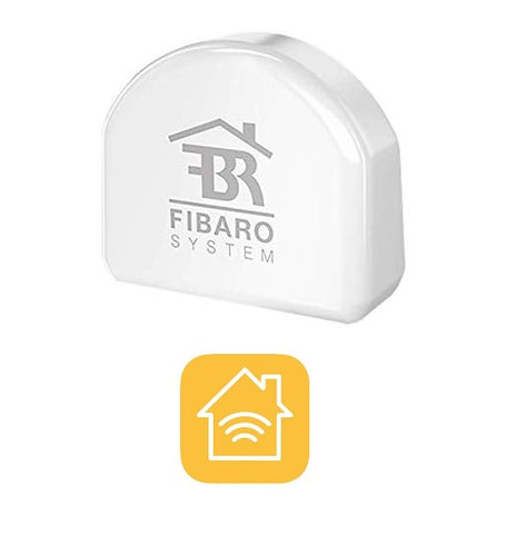 Fibaro HomeKit Switch, Apple Siri control Smart Home Automation Device