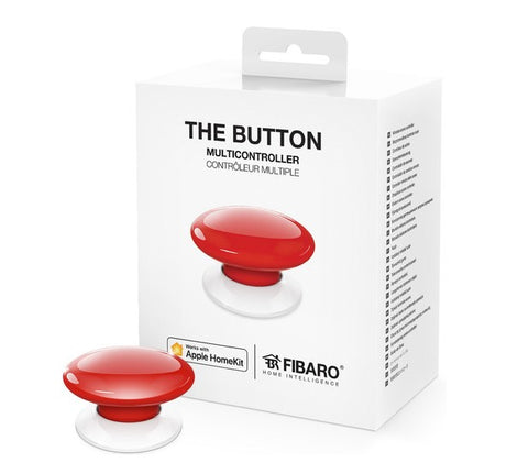 Fibaro HomeKit Button, Apple Siri controlled Smart Home Automation