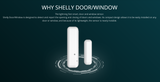 Shelly Door/Window 2 Sensors Smart Home Automation WiFi Solution
