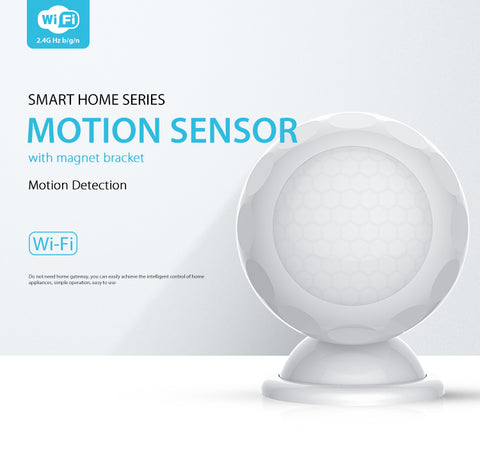 Wifi Motion Detector, Tuya Smart Home Device, Home Security App