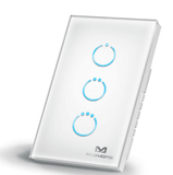 MCO Touch Panel ZWave Triple Switch
