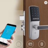 Iot ilock 15 Z-wave Door Lock, Smart Door For Short Stay Rental
