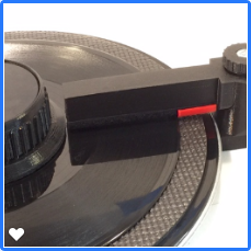 Squeaky Clean Vinyl MK-III RCM 3D Printed Record Cleaner (Classic Black)