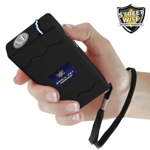 Small Fry 8,800,000* Stun Gun Flashlight Black