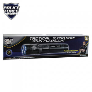 Police Force 9,200,000 Tactical Stun Flashlight