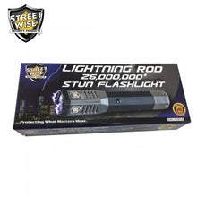 Streetwise Lightning Rod 26,000,000* Stun Flashlight