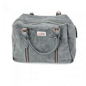 Sahara Concealed Carry Purse: Grey
