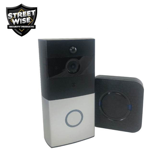 Streetwise Smart WiFi Doorbell with Chime