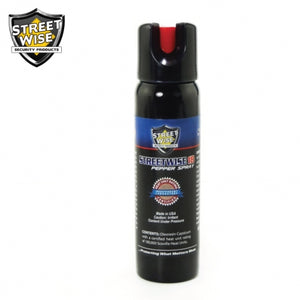 Lab Certified Streetwise 18 Pepper Spray, 4 oz. Twist Lock