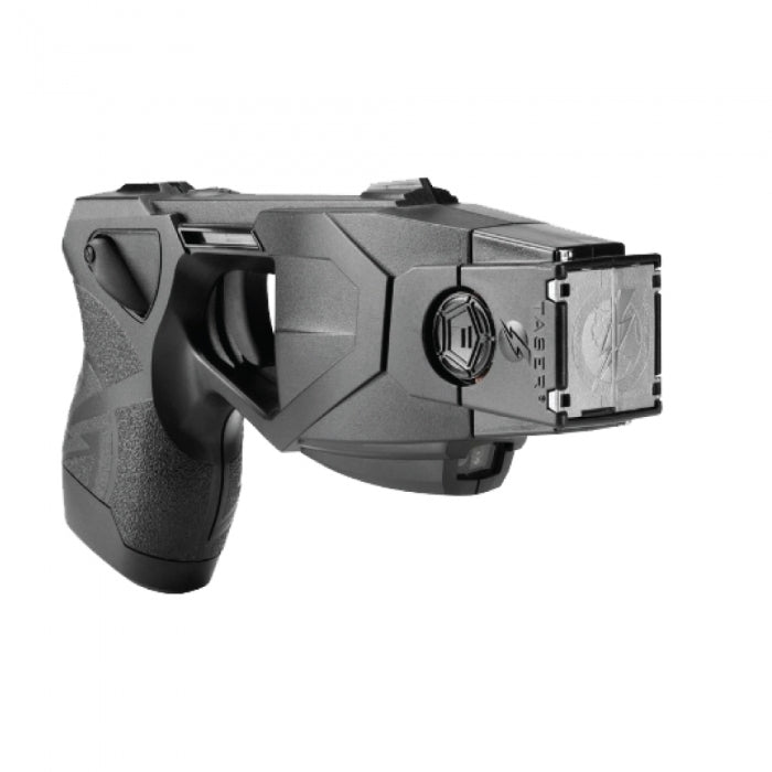 Taser X26P Black with Laser, LED, 2 Live Cartridges, Performance Power Magazine(battery pack), Target. The TASER X26P series offers the highest take-down power available
