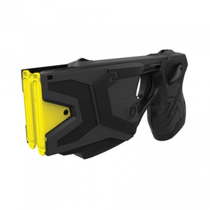 TASER X2 Defender is a two shot stun device that has the ability to take down two assailants without reloading