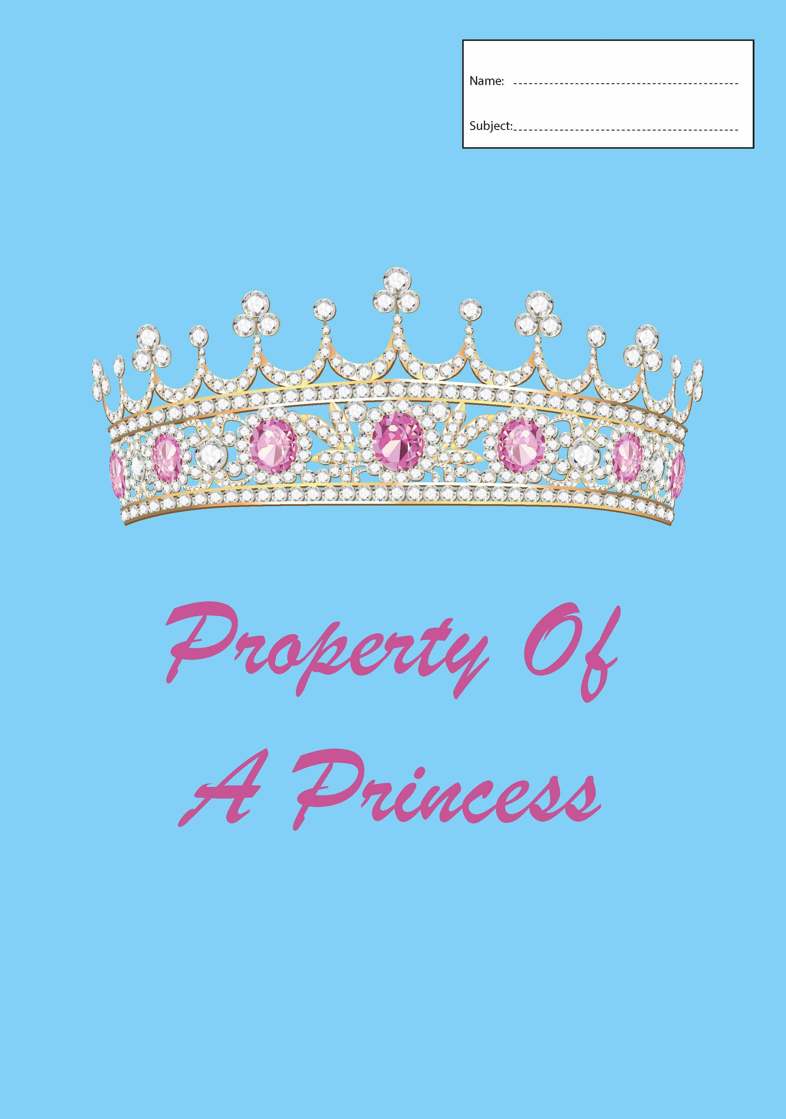 Book Cover - A4 - Princess
