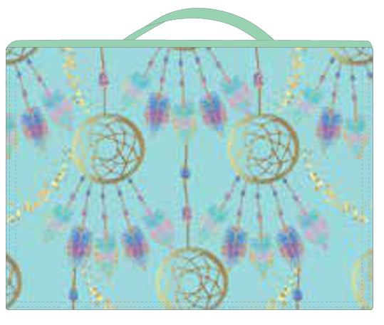 Book Bag - Teal Dream Catcher