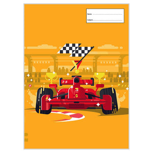 Book Cover - A4 - Formula Won
