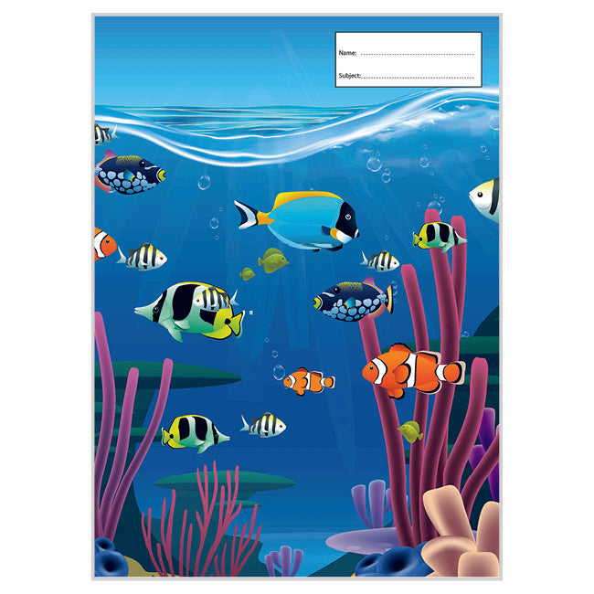 Book Cover - Scrapbook - Sealife