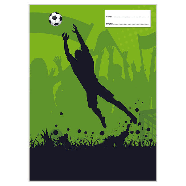 Book Cover - Scrapbook - Soccer Goalie